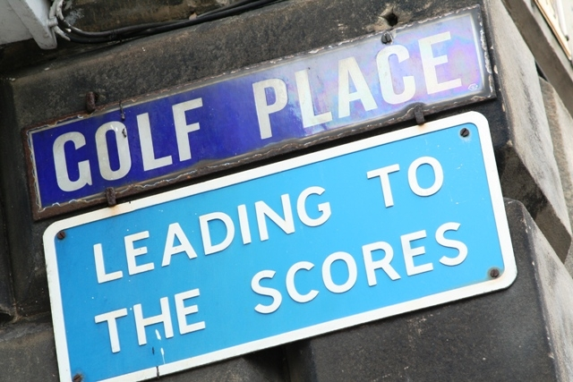St Andrews Old Course is Golf Place