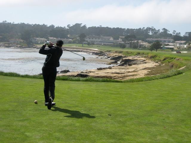 Pebble Beach Golf Links hole 18