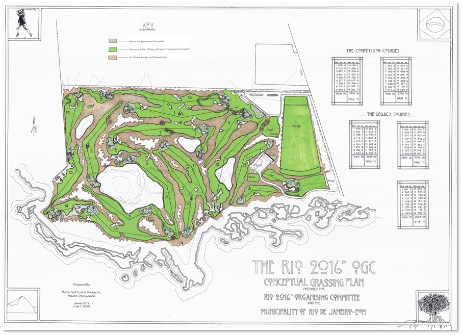 Olympic golf course dispute deepens
