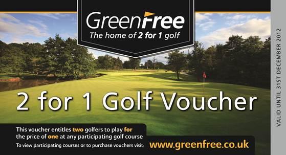 Voucher scheme celebrates decade of golf deals