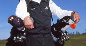 Golf Caddies: Technology battles Tradition