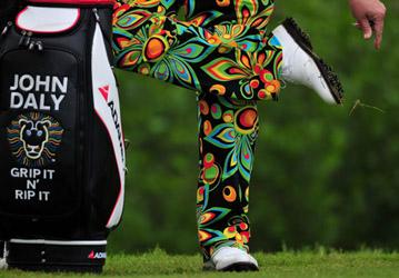 John Daly golf trousers