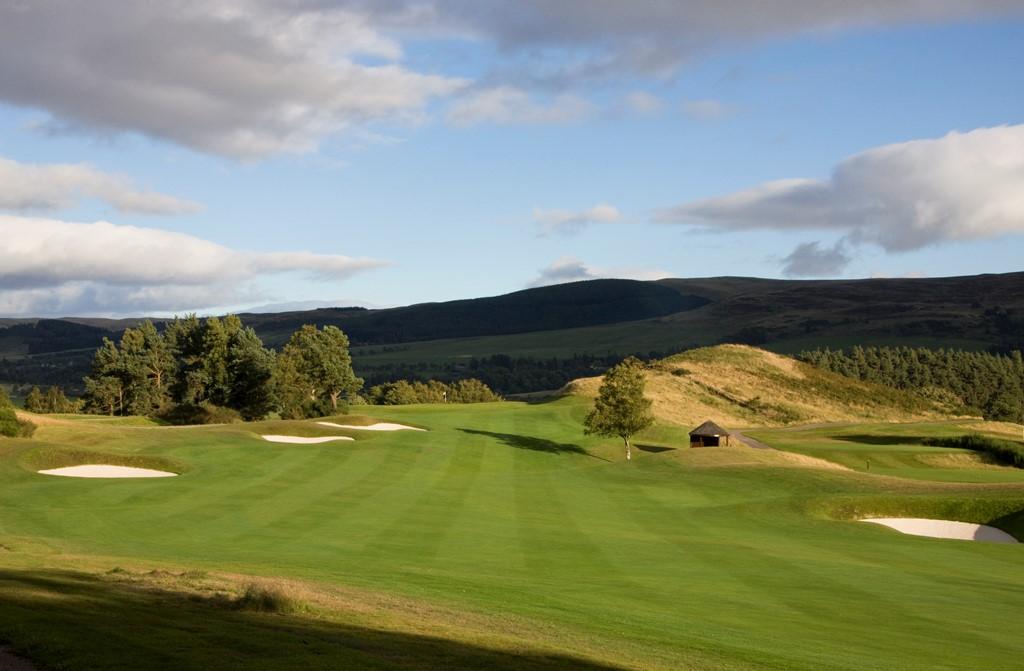 Larch Gait Hole 7 Gleneagles PGA Centenary Course