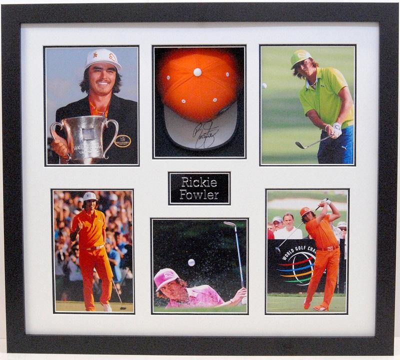 Rickie Fowler Golf Memorabilia