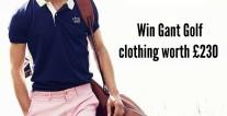 Win GANT golf clothing worth £230