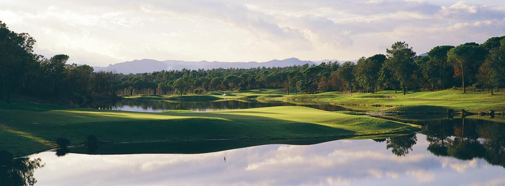 Hole 13 at PGA Catalunya Resort