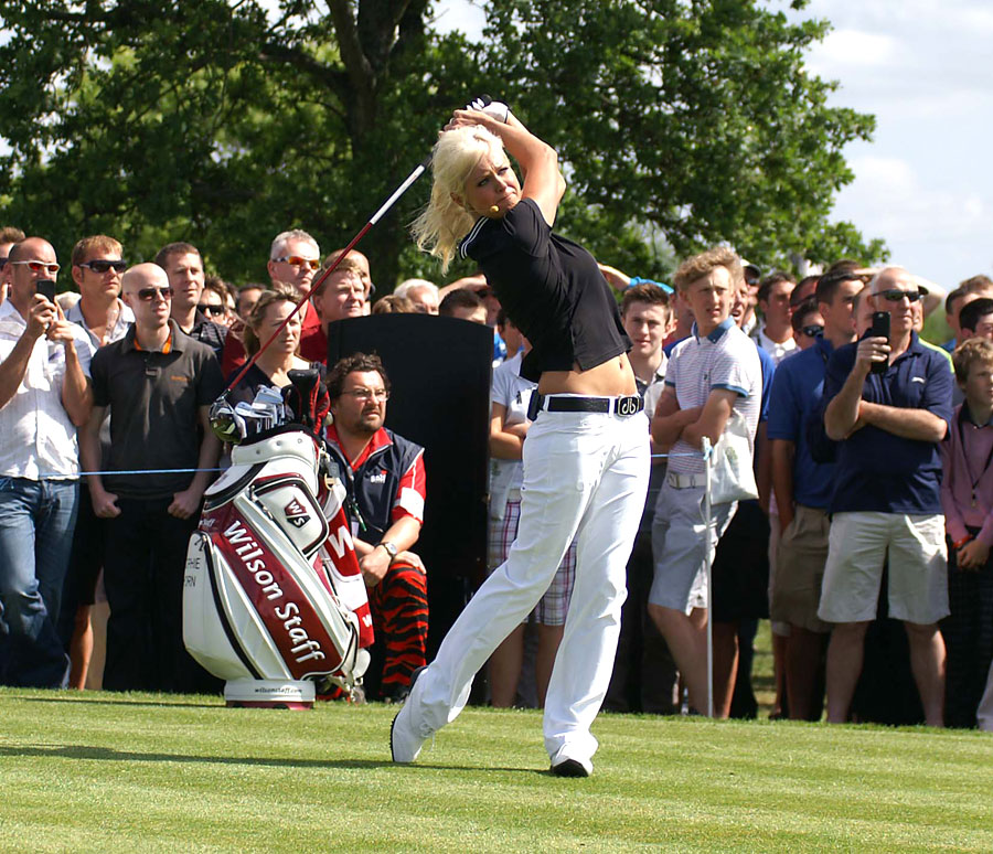 Sophie Horn world's sexiest golfer