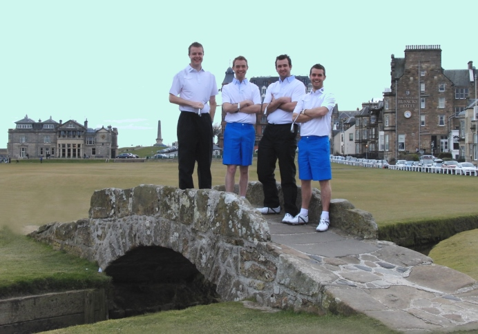 St Andrews 189 hole challenge 2013