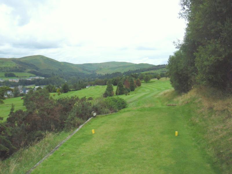 2nd hole Langholm Golf Club