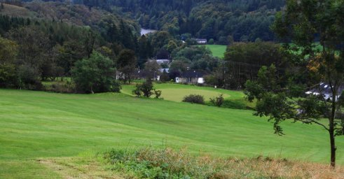 7th hole at Langholm Golf Club