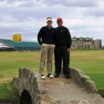 Finlay Miller at home in St Andrews