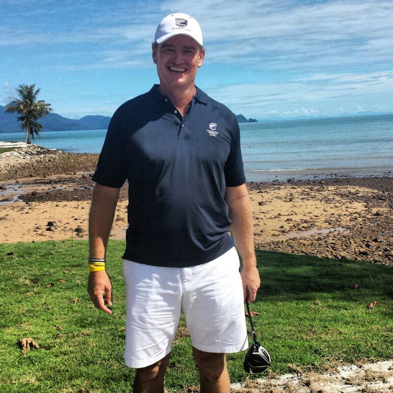 Ernie Els in Teluk Datai