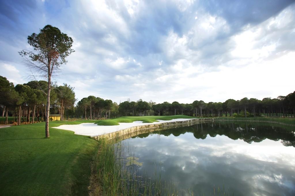 Montgomerie Maxx golf course Belek Turkey
