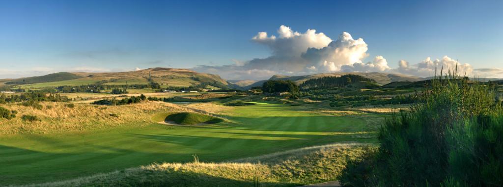 Hole 2 at Gleneagles PGA Centenary Course
