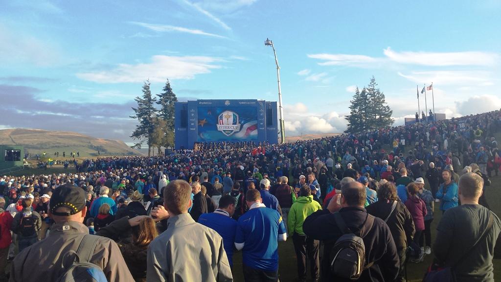 2014 Ryder Cup closing ceremony